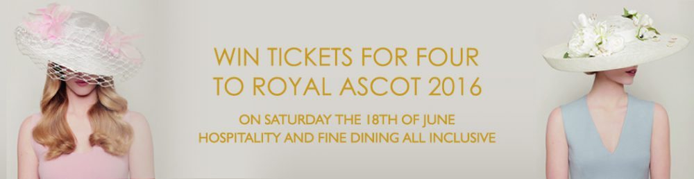 Win 4 Royal Ascot Tickets with Thomas Lyte
